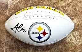 James Connor Autographed Hand Signed Pittsburgh Steelers Logo Football w/COA - $109.99