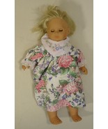 Max Zapf 22-56mz Vintage Baby Doll Opening Eyes 22in Plastic Fabric - $34.27