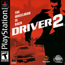 Driver 2 PS1 SONY PLAYSTATION Video Game - $5.97
