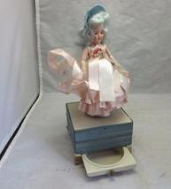 Sleepy eye doll music jewelry box. Needs light repair of head - $29.99