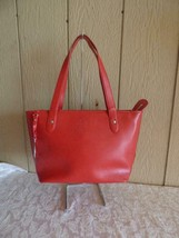 $355.00 Lauren by Ralph Lauren Newbury Shopper Handbag, Red - $64.35