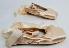 GRISHKO Elite Pointe Shoes Ballerina 6 1/2 X M Peach Cream Color - $34.29