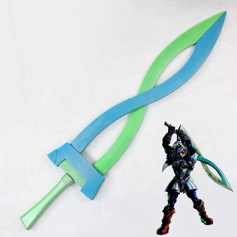 Primary image for The Legend of Zelda: Majora's Mask Link Fierce Deity Sword Cosplay Prop Buy