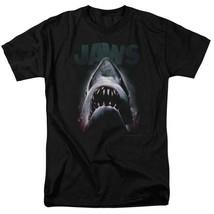 JAWS retro 70's 80's shark thriller Spielberg movie graphic t-shirt UNI352 image 1