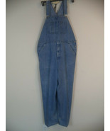 Men's Denim Craftsman Bibs Overall Dungaree. 42 X 32. 100% Cotton. - $37.62