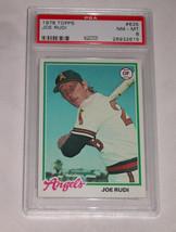 1978 Topps Béisbol #635 Joe Rudi ,Angels Outfield, PSA Nm-Mt 8 U. S. A - $9.80