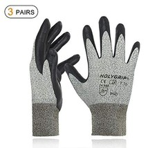 Nitrile Coated Work Gloves Gardening Gloves with Seamless Knit Nylon She... - $13.89
