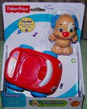 Fisher Price Laugh & Learn Puppy's Learning Car Mini Set 9m+ New - $8.88