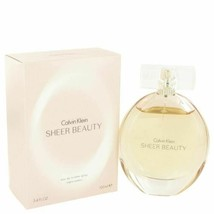Perfume Sheer Beauty by Calvin Klein 3.4 oz Eau De Toilette Spray  for W... - $30.50