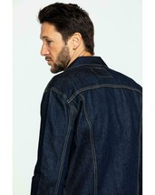 NEW Levi's Men's Indigo Trucker Jacket SIZE MEDIUM FREE SHIPPING - $65.90