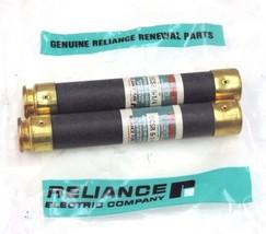 LOT OF 2 NEW RELIANCE ELECTRIC ECSR-6-1/4, 600V FUSES ECSR614
