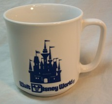 "VINTAGE WALT DISNEY WORLD CINDERELLA'S CASTLE 3"" COLLECTOR'S MUG CUP - $14.85"