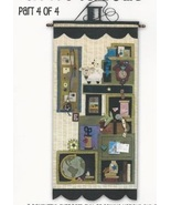 Tuffets Cupboard Part 4 P1050 Applique/Feltwork pattern with button pack... - $21.60