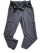 T by Talbots Tie Waist Pants athletic performance leisure travel Large W... - $24.74