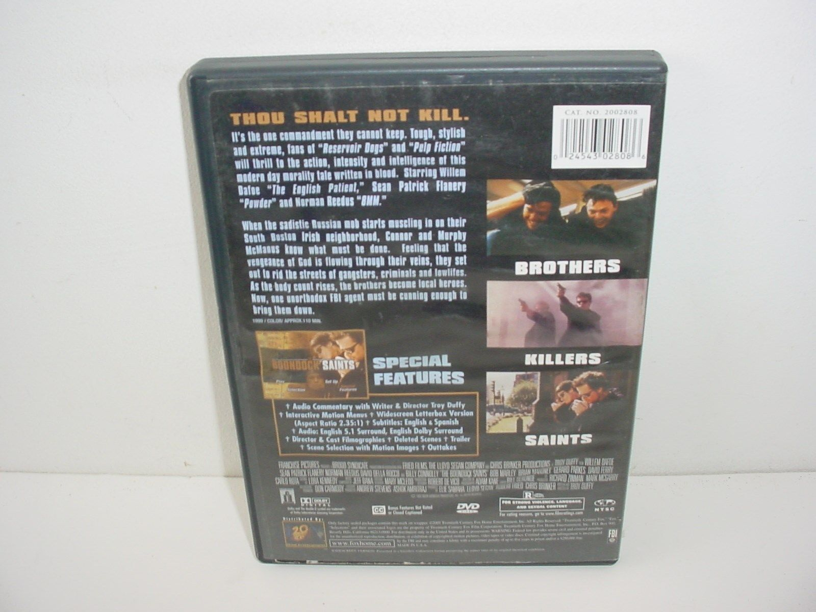 The Boondock Saints DVD Movie