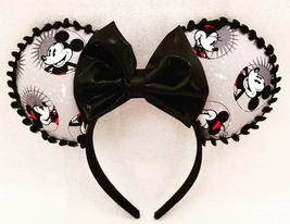 Handmade Traditional Mickey and Minnie Mouse ear headband - $15.00