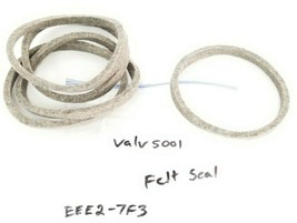 "LOT OF 5 NEW GENERIC EEE2-7F3 FELT SEALS,  ~4-1/8"" ID, ~4-5/8"" OD, EEE27F3 image 1"
