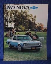 1977 Chevrolet NOVA Color Sales Brochure - Rally Police - New Old Stock - $7.50