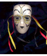 WICCAN Gold/silver  And Black Wall Mask for Reflecting Wealth on You - $5.00