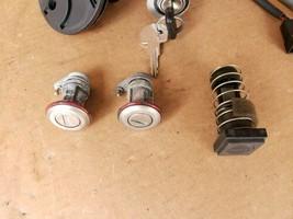 1991 Alfa Romeo 164 Ignition Switch Door Trunk Glove Box Lock & Key image 2