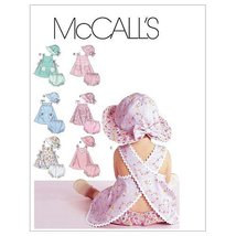 McCall's Patterns M6303 Infants' Dresses, Panties and Hat, All Sizes - $14.21