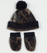 Columbia Frosty Fleece II Fleece Beanie Hat & Mittens Infant One Size NWT - $18.55