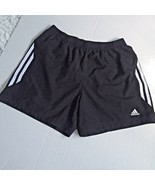 Adidas Womens Small Black White Running Gym Trainer Track Soccer Shorts ... - $17.58