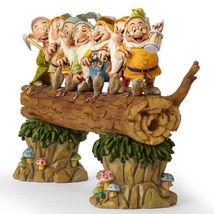 "8.25"" ""Homeward Bound"" Seven Dwarfs Figurine by Jim Shore Disney Traditions image 3"