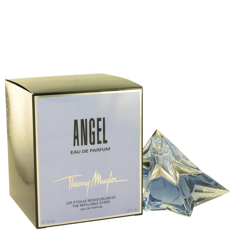 Thierry mugler angel 2.6 oz edp spray refillable star