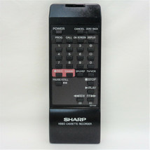 Sharp G0774GE Factory Original VCR Remote For VC-A52040U, VC-A5240, VC-A5240U - $10.29