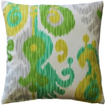 Pillow Decor - Ikat Journey Outdoor Throw Pillow 20x20 - $39.95