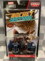 Fusée Raton Laveur & Groot Marvel Legends Séries Bd Action Figurines Neu... - $8.38