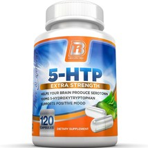 5-HTP - 120 Count 100mg 5-HTP Capsules By BRI Nutrition - $32.29