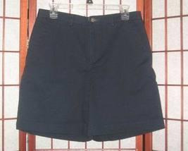 Liz Claiborne navy blue school uniform shorts women's sz 10 - $2.00