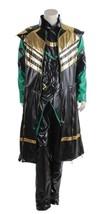 Thor The Dark World Loki Cosplay Costume Men Superhero HalloweenCarnival Costume - $138.00
