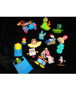 MISC MCDONALDS TOY LOT 15 ITEMS TOY STORY BARBIE SNOOPY COOKIE MONSTOR - $5.00