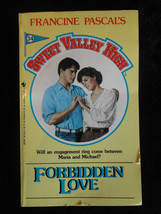 SWEET VALLEY HIGH BOOK #34 FORBIDDEN LOVE - $4.00