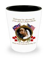 Prince Harry And Meghan The Rose Commemorative Wedding Collectors Shot G... - $11.99
