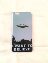 The X-Files I Want To Believe Hard Plastic Case For iPhone6 6s  Plus New!