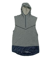 Nike Tech Pack Sphere Sleeveless Running Hoodie Gray Ocean Fog AR9819 Me... - $47.49
