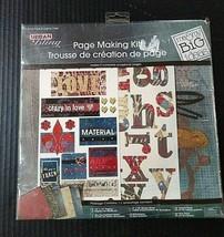 Me & My Big Ideas Urban Bling Scrapbook Page Making Kit Love Theme 12x12 - $20.58