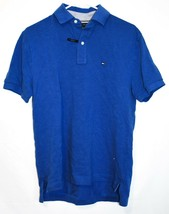 Tommy Hilfiger Men's Classic Fit Blue Collared Polo Shirt Size S image 1