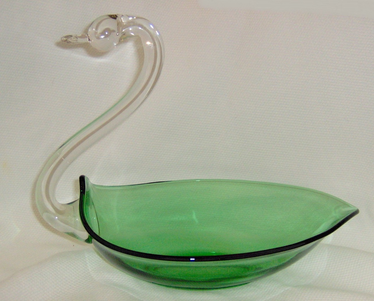 Duncan miller swan glass 4 listings vintage duncan miller green crystal pall mall glass swan 3500 floridaeventfo Choice Image