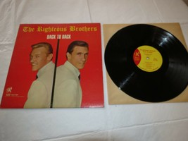 Back to back by The Righteous Brothers Philles Records PHLP4009 LP Album... - $29.68
