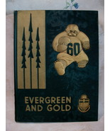 University of Alberta 1960 Yearbook Evergreen and Gold Collector Souveni... - $99.95