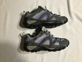 Merrell Women's Hiking Sneakers Gray And Purple Size US 8 - $56.99