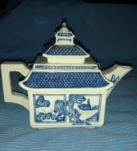 Willow Blue Collectibles Teapot Numbered  - Designed by Christopher Johnson - $24.97