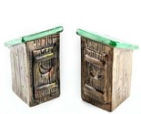 Outhouses Collectible Salt and Pepper Shakers Collectible Ceramic Country Decor