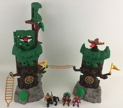 Imaginext Medieval Building Set Lost Fortress Near Complete Fisher Price... - $44.50