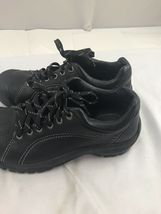 Keen sz 8 black leather tie shoes image 5